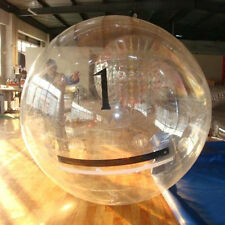 AMOI 2M Water Walking Roll Inflatable Zorb Zipper Zorbing Balldancing CLEAR Ball