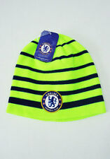 Chelsea FC Soccer Football NEW BEANIE Cap Knit Hat Yellow Blue Neon