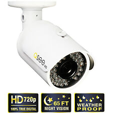 Q-See IR Weatherproof Color 720p Surveillance IP Bullet Camera w/Night Vision