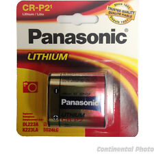 Panasonic CR-P2PA/1B CRP2 DL223, 6v Power Photo Lithium Battery