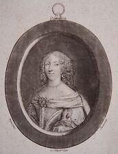 BENOIST : Portrait de la Duchesse de La Valliere. 18 eme