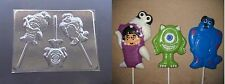 Monsters Inc Boo Mike Sully Lollipop Chocolate Candy Soap Crayon Mold