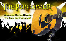 WALK UP & PLAY! Heavy-Duty PRO Acoustic Guitar Stands For Live Shows! BUY IT NOW