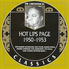1950-1953 * by Hot Lips Page-CLASSICS CD NEW