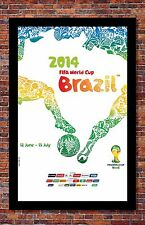 FIFA World Cup Soccer Event Brazil | Event Fine Art Print | 13 x 19 inches