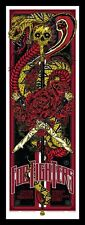 FOO FIGHTERS SYDNEY 2011 SILKSCREEN GIG POSTER RARE S/N ED