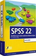 Bühl, A: SPSS 22 von Achim Büh, 14. Auflage (2014, Gebundene Ausgabe)