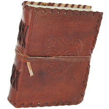 Celtic Infinite Love Leather Brown Blank Journal Diary