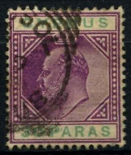 Cyprus 1904-10 SG#63, 30pa Purple And Green KEVII Used #D32744