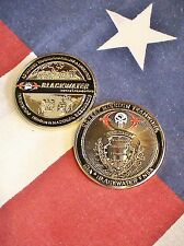 "C.I.A. BLACKWATER,  N.S.A. ""Covert Mission Teamwork "" 2"" 3D Challenge Coin"