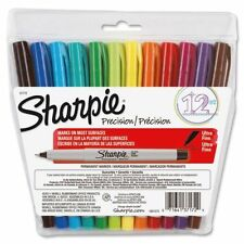 Sharpie Ultra Fine Point Permanent Markers, 12 Assorted Colored Markers 37172
