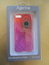 NEW Agent18 iPhone 5 5S Hard SNAP Case Cover Single Piece Peacock