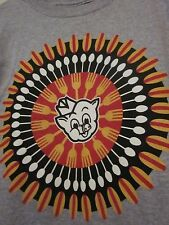 NWT PIGGLY WIGGLY HOT DOG Logo Gray Short Sleeve T-Shirt Size YOUTH S