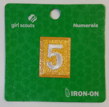 Girl Scout Daisy number patch 5