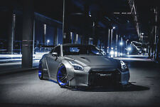 For Nissan GTR (R35) LL Performance Full Body Kit Exclusive