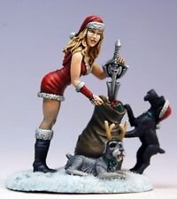 Special Edition MRS CLAUS AND SCHNAUZERS Dark Sword Miniatures DSM7509