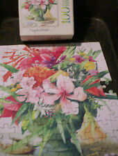 Marjolein Bastin Mini Puzzle 100 Pieces by Hasbro floral bouquet