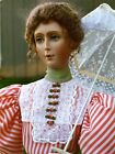 "1870 Summer Visiting Dress Sewing Pattern for a 24"" Fashion Doll #35"