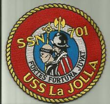 USS LA JOLLA SSN 701 U.S.NAVY PATCH NUCLEAR SUBMARINE SAILOR SOLDIER CALIFORNIA