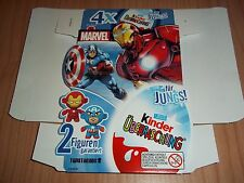 4-PACK VUOTO TWISTHEADS MARVEL KINDER GERMANIA 2013 TEST - TESTWARE