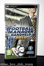 FOOTBALL MANAGER HANDHELD 2010 gioco usato stato ottimo stato versione ita FR1