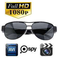 HD 1080P Mini DV Spy Camera Caméra Sunglasses Hidden Video Eyewear +16G Micro SD