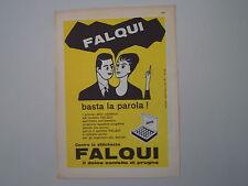 advertising Pubblicità 1960 CONFETTO FALQUI