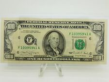 1990 One Hundred $100 Dollar Bill Federal Reserve Note Series **Extra Strike**