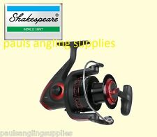 Shakespeare Sigma Supra Spin Spinning  Fishing Reel 40 Front Drag
