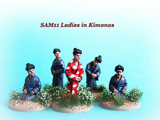 SAM11 Ladies in Kimonos x 5