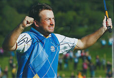 Graeme McDOWELL GMac Ryder Cup SIGNED AUTOGRAPH Photo AFTAL COA Celtic Manor