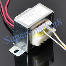 110V 220V AC IN 15V-0-15V AC Out 10W Power Transformer for 6N3 Buffer Preamp