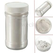 100g Silver Ultrafine Glitter Pearl Pigment Powder Metal Sparkle Shimmer Paint