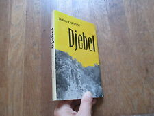ROBERT LAURINI djebel + jaquette  algerie 1984