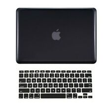 "2 in 1 BLACK Crystal Hard Case  for Macbook PRO 15"" A1286 with Keyboard Cover"
