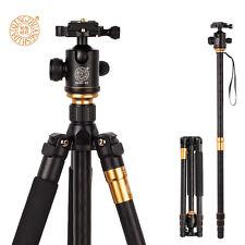 Q999 Tripod To Monopod+Ball Head For Digital SLR DSLR Camera Max Loading 15Kg