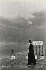 1949 Vintage PEKING CHINA ~ LONE MAN Germ Mask Art 16x20 ~ HENRI CARTIER-BRESSON