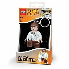 LEGO STAR WARS HAN-SOLO KEY-LIGHT LED TORCH BRAND NEW GREAT GIFT 3""