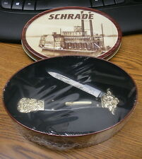 SCHRADE DIRK KNIFE SEALED IN TIN NEW LQQK