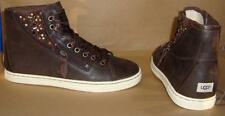 UGG Australia BLANEY CRYSTALS Chocolate Lace Up Sneakers Size US 8 NIB #1008490
