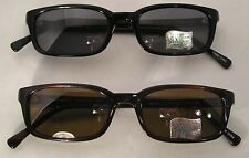 Wholesale Lot of 10 After Six By COI Polarized Grey & Brown Sunglasses