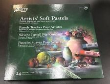 NEW Mungyo Gallery Soft Pastels Cardboard Box 24pcs Set  MPV-24