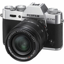 Fujifilm Fuji X-T10 + XF 18-55mm F2.8-4 R LM OIS lens kit - SILVER - UK DEALER