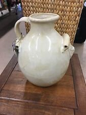 LATE MAJOLICA PITCHER