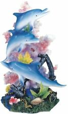 Marine Life Dolphin Design Figurine Statue Decoration Decor Collection