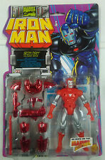 ACTION FIGURE - IRON MAN - HOLOGRAM ARMOR - MARVEL COMICS - 1996