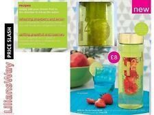 AVON ON THE GO INFUSER BOTTLE~A GREAT WAY TO DRINK HEALTHY~SALE