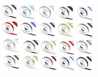 QUALITY DOUBLE SIDED FACED RIBBONS ROLL REEL - 3mm 6mm 10mm 15mm 25mm 38mm