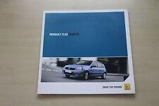 171725) Renault Clio B Campus Prospekt 06/2011