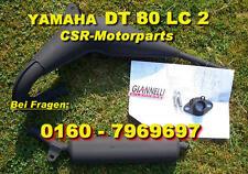 Tuning Auspuff Yamaha DT 80 125 ABE Krümmer Dämpfer Schalldämpfer Giannelli NEU